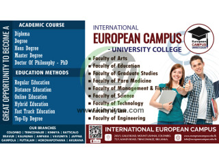 Great Opportunity From European campus